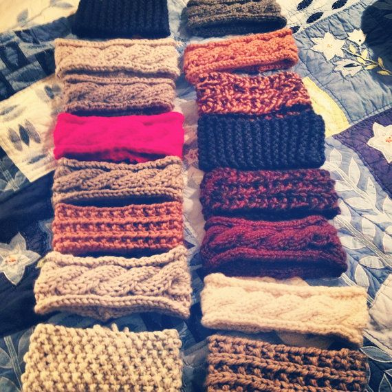 Cable Knit Headbands
