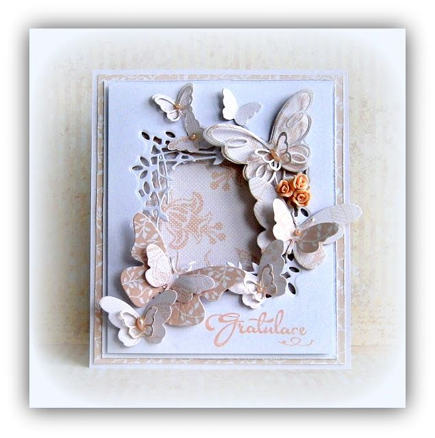 zuzčino SCRAP DECO: Motýlí gratulace v pastelech :-)