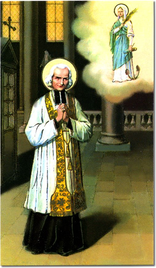 Prayer:I love You, O my God, and my only desire is to love You until the last breath of my life. My God, if my tongue cannot say it every moment that I love You, I want my heart to repeat it to You as often as I draw breath. Amen. – St. John Vianney