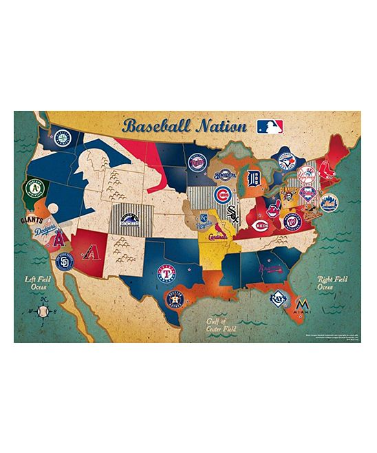 Take A Look At This Mlb Usa Map Puzzle On Zulily Today