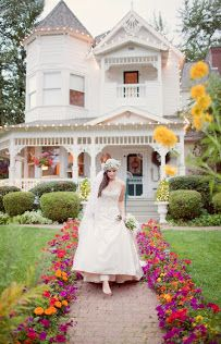 This House Is At Belle Victorian Gardens In Deer Park Washington It Adorable And Has A Nice Tower Beautiful Porch Gorgeous Grounds