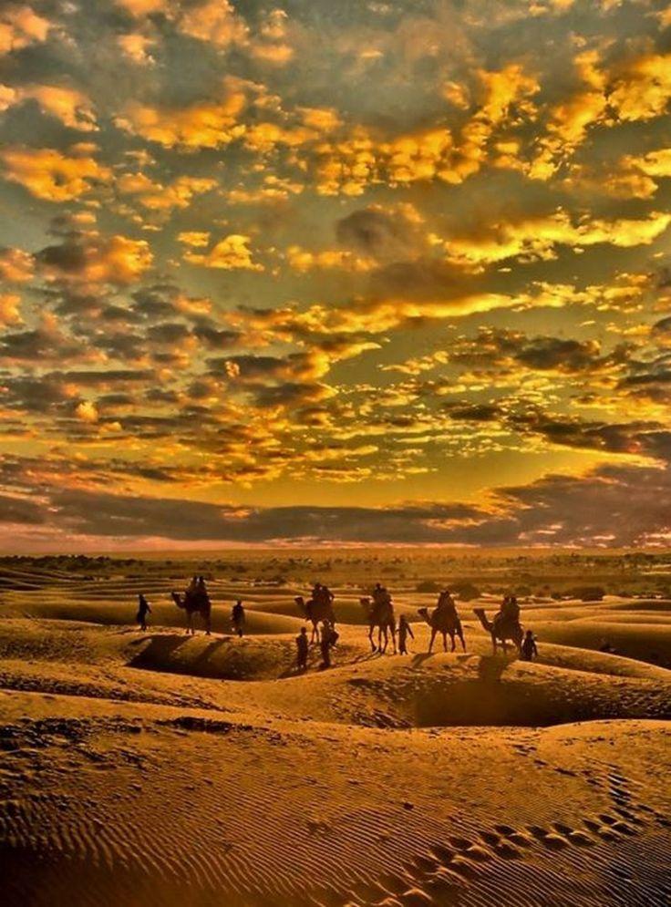 Thar Desert near Jaisalmer, Rajasthan