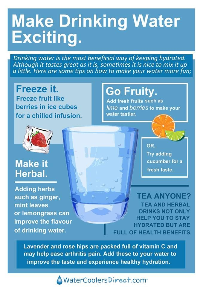 Drinking water is essential for our health.   Here are some tips on how jazz up your drinking #water.