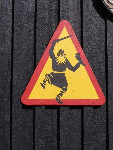 Icelandic signals: party like a Viking! #iceland #vikings