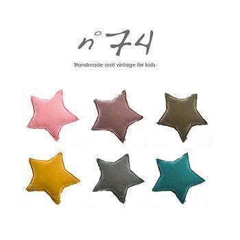 Mini Star Cushion by numero74 ミニスタークッション http://bcbasics.com/?mode=srh&keyword=numero74&x=15&y=7  via mom's choice☆世界モノカタログ!