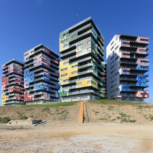 Spectrum Residential Ensemble / Re-Act Now, Constanta, Romania, 2009