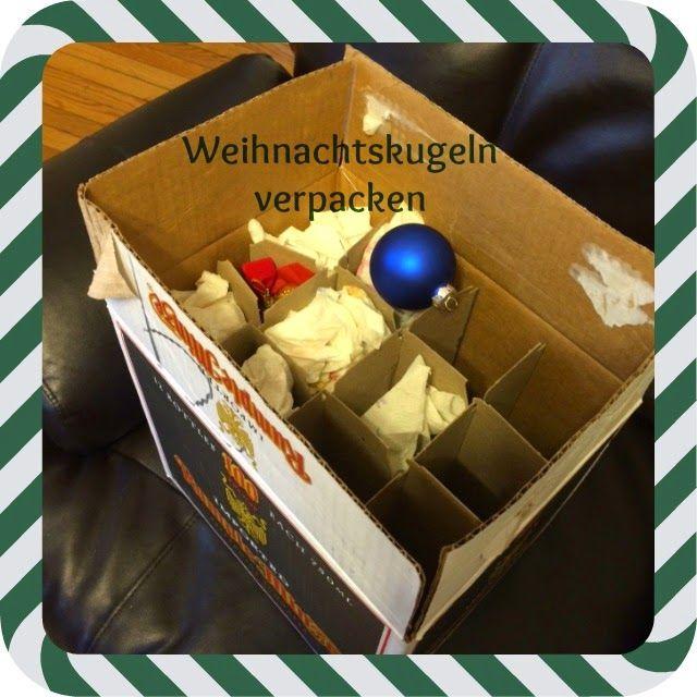 Kostenlose Verpackung für Weihnachtskugeln http://usabilligabergutleben.blogspot.com/2014/12/kostenlose-verpackung-fuer.html ...