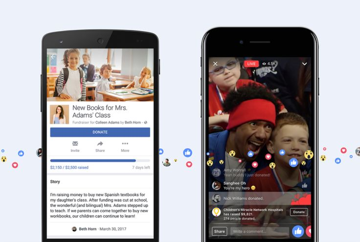 Facebook now lets you ask friends for charitable donations