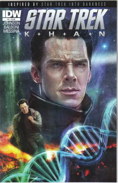 Star Trek Movie Khan Comic Book #1, Regular Cover IDW 2013 NEW UNREAD | eBay