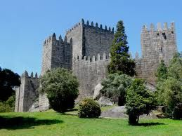 guimaraes - This castle is the oldest in Portugal and was built for the first King.
