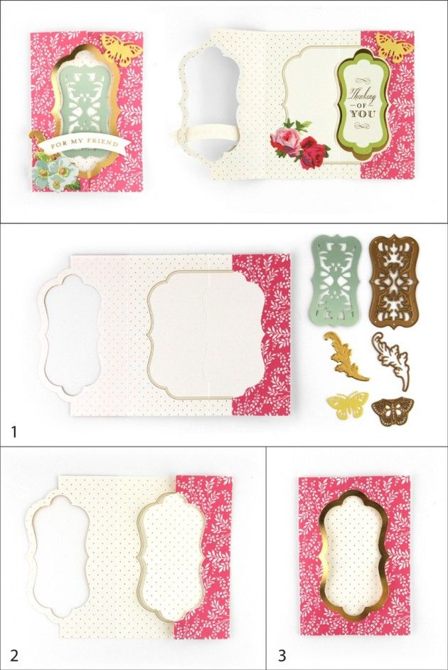 Lori Whitlock Blog: 24-Hour Craft Event at HSN! - Anna Griffin Fantastic Flips Card Making Kit #tutorial