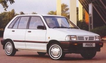 Here's a 1986 #Kia Pride for #ThrowbackThursday #TBT