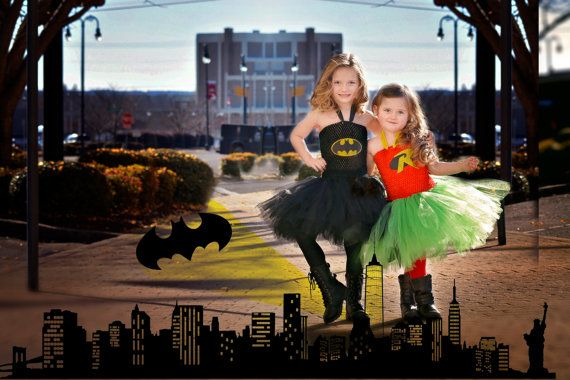 Batman tutu dress costume. Hey, I found this really awesome Etsy listing at https://www.etsy.com/listing/487131468/batman-tutu-dress-batman-costume-comic