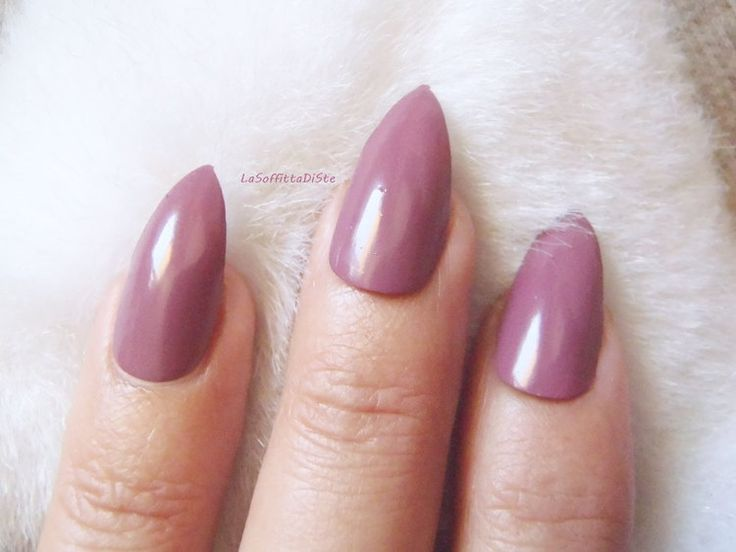 mauve stiletto faux nails almond shiny pink purple halloween false - http://shoebrand.net/mauve-stiletto-fake-nails-almond-glossy-pink-purple-halloween-false/