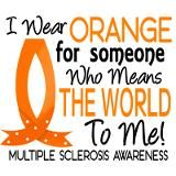 Means World To Me 1 Multiple Sclerosis Shirts Stai