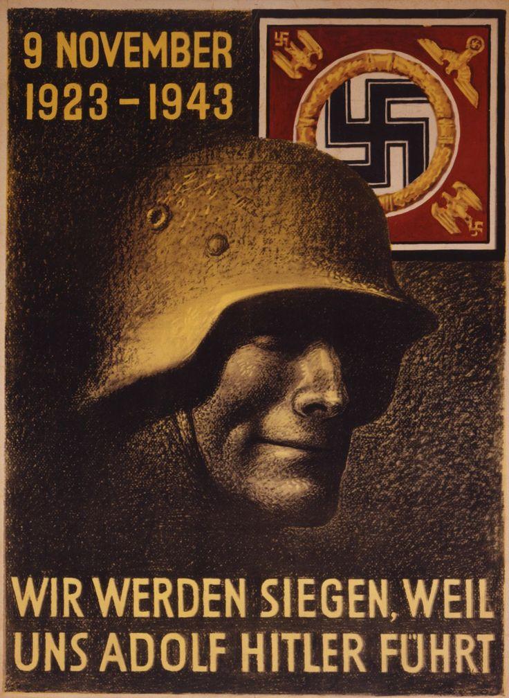 Zwanzigster Jahrestag des Hitler-Putsches, 1943