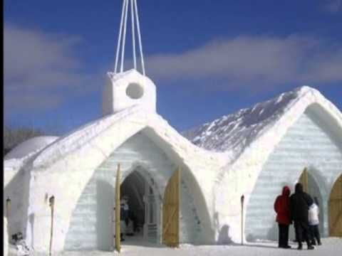Week 8: Canada | Video of an ice hotel & Building an Igloo | Middle Beginnings blog