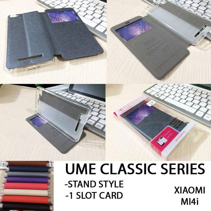 Ume Classic View Leather Case Xiaomi Mi4i - Rp 100.000 - kitkes.com