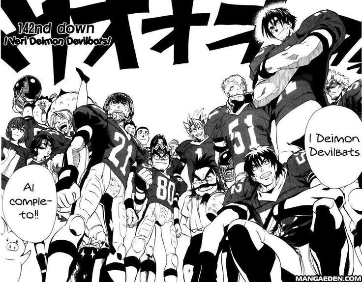 Manga Eyeshield 21 - Chapter 142 - Page 4