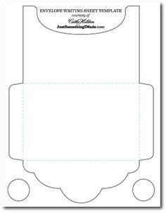 17 best ideas about envelope template printable on. Black Bedroom Furniture Sets. Home Design Ideas