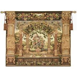 Floral Pergola Tapestry Wall Hangings
