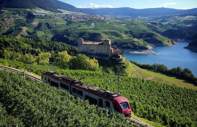 Trenino dei castelli, speciale bambini in Trentino