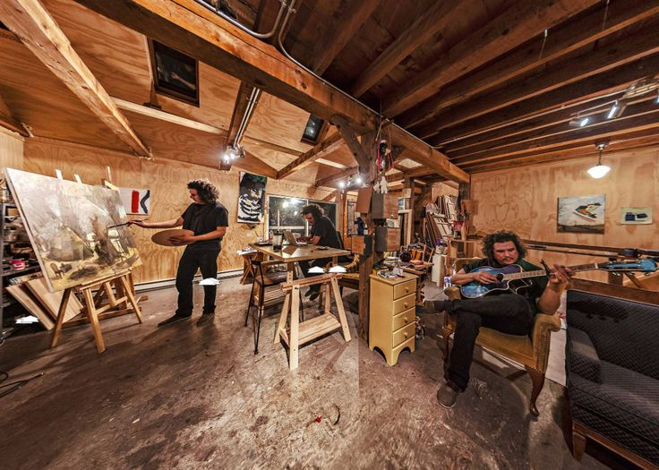 Travis in the Shilling Studio 2012 (Canada) by Robert Snache https://www.360cities.net/image/shillingstudio2012#-319.55,4.98,115.0