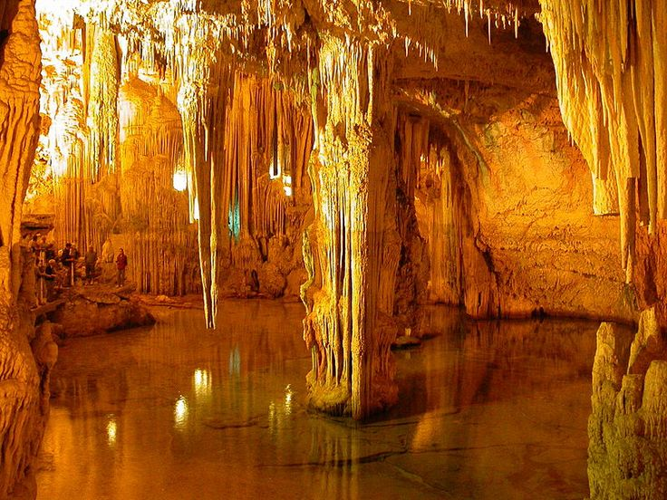 Neptune's Grotto (Italian: Grotta di Nettuno) is a stalactite cave near the town of Alghero on the island of Sardinia, Italy.