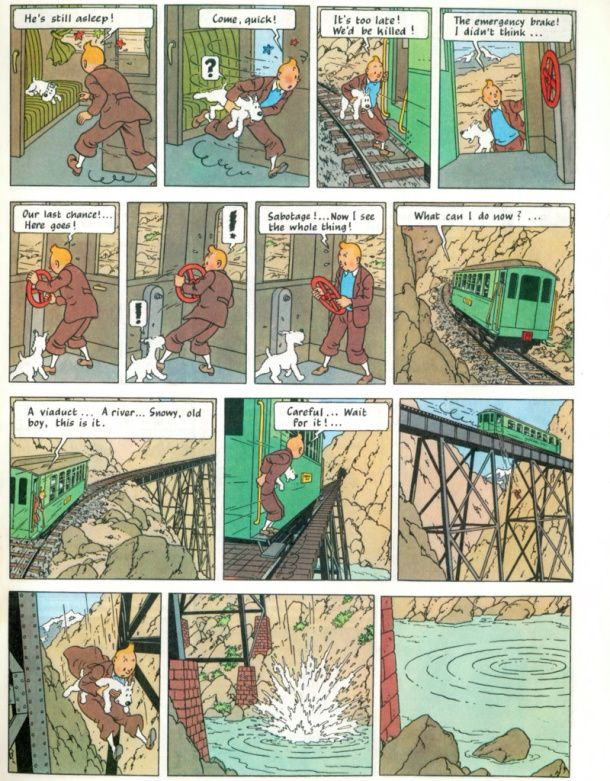 Tintin Prisoners of the Sun by Herge
