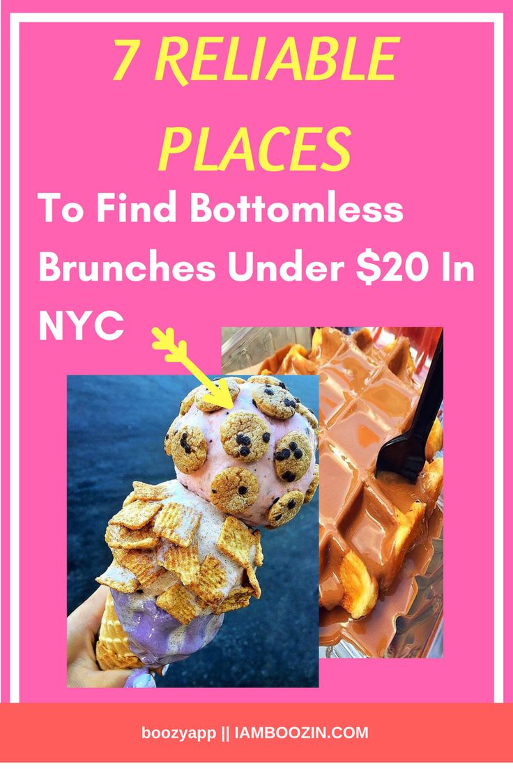 Brunch New York | 7 Reliable Places To Find Bottomless Brunches Under $20 in NYC...Click through for more  Bottomless Brunch Bottomless Brunch NYC NYC Brunch Brunch NYC Brunch New York New York Brunch