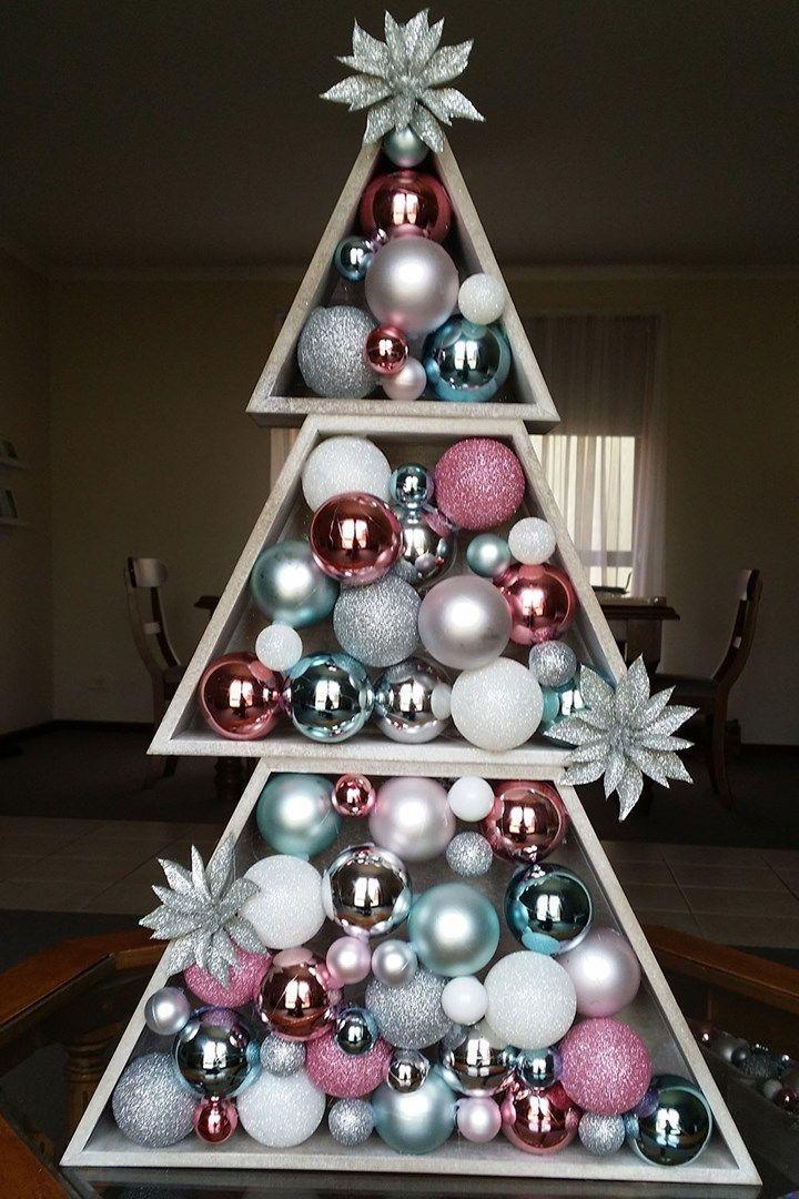 Kmart stacking Christmas tree hack - $12 Kmart Christmas Tree Hack Christmas Pinterest Christmas