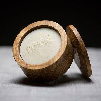 Handmade Shaving Soap in Hand Turned Ash Bowl