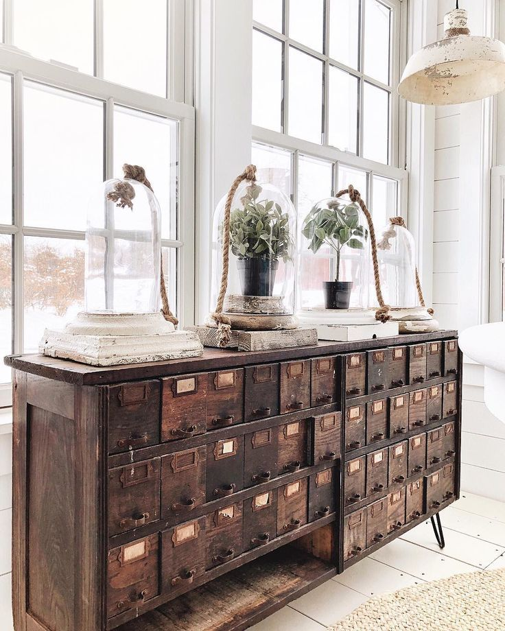 Neutral Early Fall Home Tour – #Antique #Early #fa…