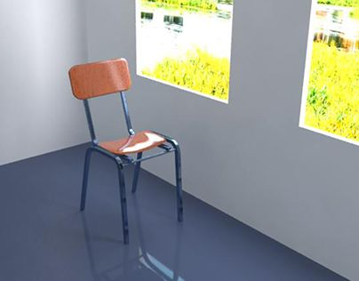 """Check out new work on my @Behance portfolio: """"Chair 3D"""" http://be.net/gallery/55557865/Chair-3D"""