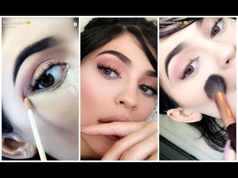Kylie Jenner Makeup Tutorial Using Her Vacation Edition | SNAPCHAT JUN 13 – Makeup Project