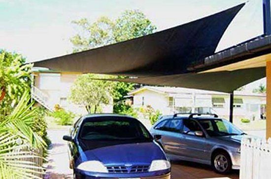 A Stylish Carport Shade Sail Boutique Pinterest For