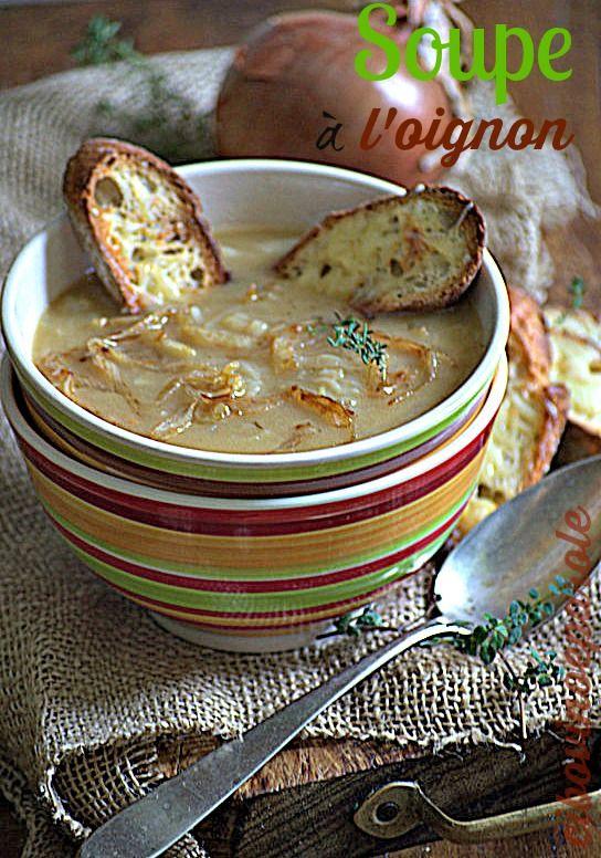 Soupe a l'oignon  #ricetta di @annamolino