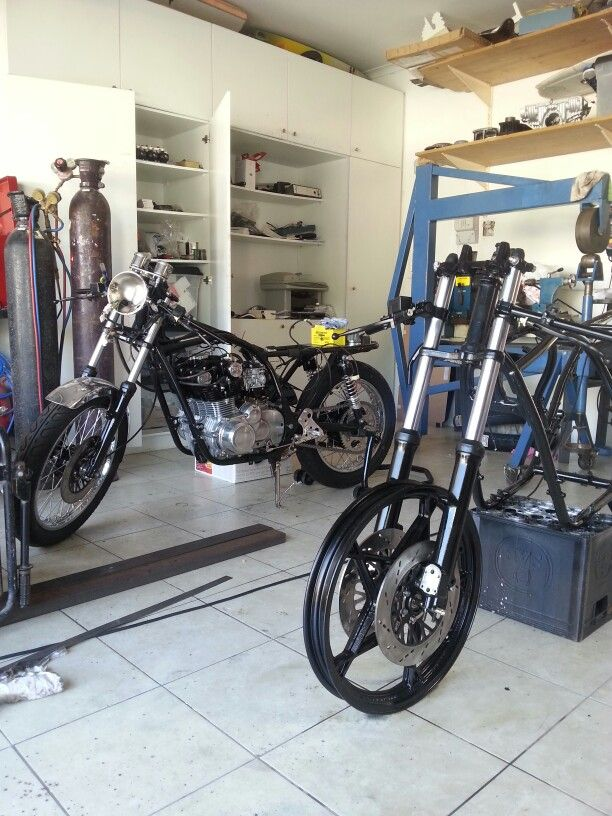 Production!!! #caferacer