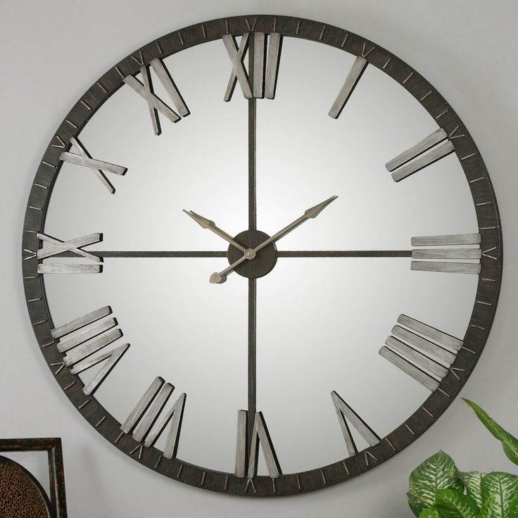 Uttermost Amelie 60 in Large Wall Clock