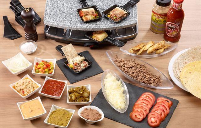 Mexican Raclette idea