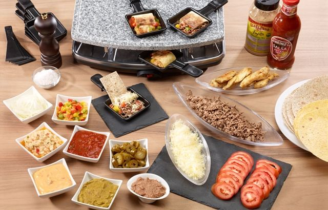 Mexican Raclette idea