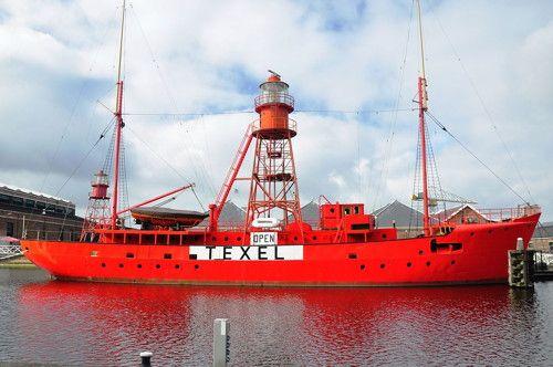 Lightship Texel, Den Helder, THE NETHERLANDS