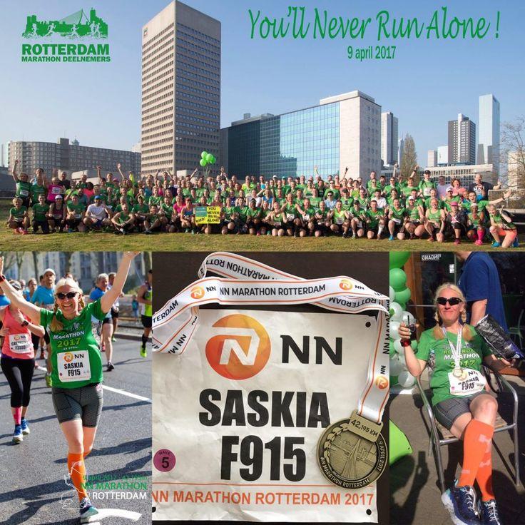 NN Marathon Rotterdam: De triomftocht! | Op weg naar de marathon
