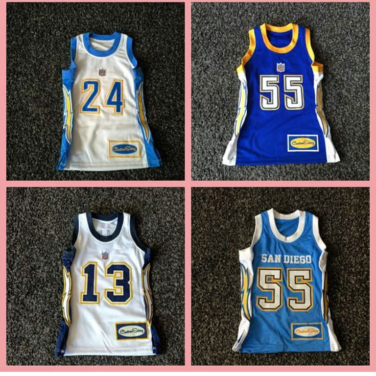 San Diego Chargers Basketball Jersey