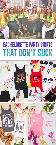 This site is a Maid of Honor's best friend. Great shirts and accessories for the bachelorette!