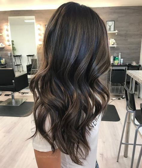 Smokey Ash Brown Hair Color