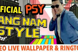 PSY GANGNAM STYLE LWP and Tone 1.7 apk app Free Download