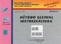 Rincon Especial : Libro Método gestual de lecto-escritura - Fichas 1