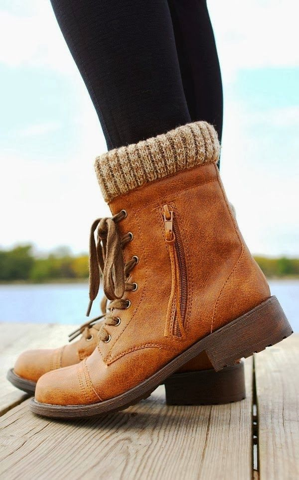 Brown booties for fall and winter fashion comfy and stylish- paired with skinny jeans or black leggings
