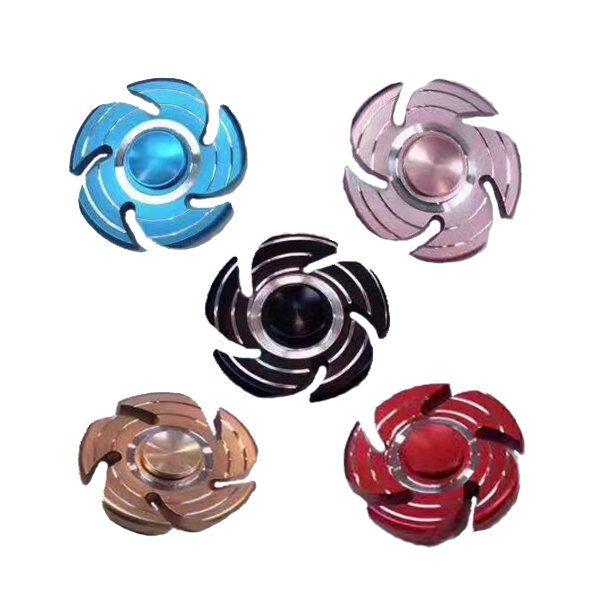 ECUBEE Hand Spinner Aluminium Alloy Fidget Spinner Finger Focus Reduce Stress Gadget Sale